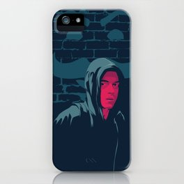 Mr. Robot - series poster iPhone Case