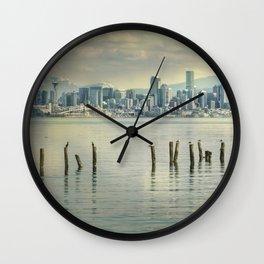 Seattle Dawn Wall Clock
