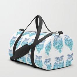 Blue Dream Catcher Duffle Bag