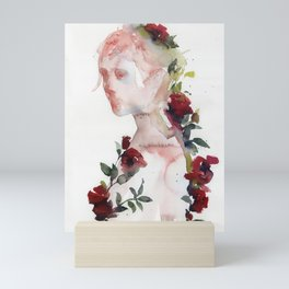 red roses Mini Art Print