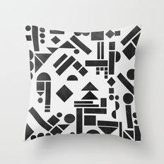 Geometry 1 Throw Pillow