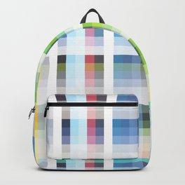 blue retro crossed design Nuckelavee Backpack