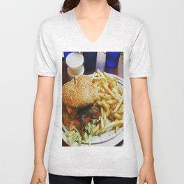 Best Burger Unisex V-Neck