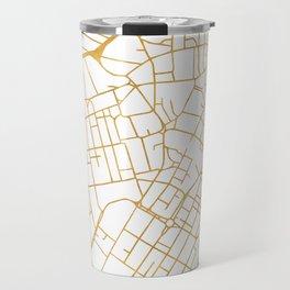 SHEFFIELD ENGLAND CITY STREET MAP ART Travel Mug