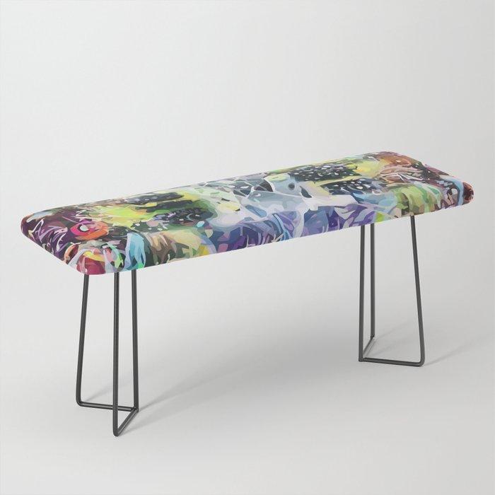 Crow's Paintbrush Bench