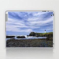 Yaquina Lighthouse Laptop & iPad Skin