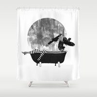 legs Shower Curtains featuring legs by Cardula
