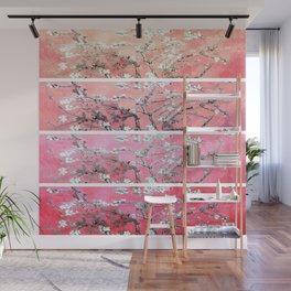 Vincent Van Gogh Almond Blossoms Panel Pink Peach Wall Mural