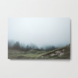 In the mountains again Metal Print