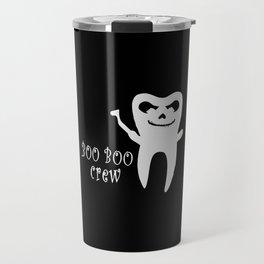 Boo Boo Crew Dentist Ghost Travel Mug