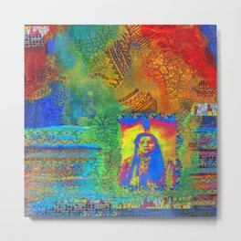 Colorful Hertiage Metal Print
