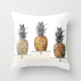 Top Pineapple 02 Throw Pillow