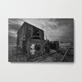 The Winch Metal Print