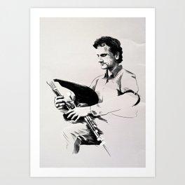 The Piper Art Print