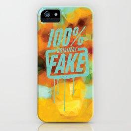 SUNFLOWERS - ORIGINAL CREATIVE DESIGN iPhone Case