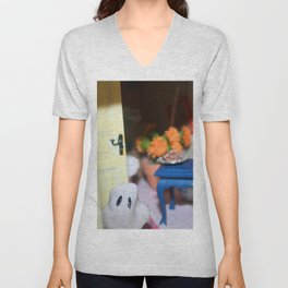Welcome To Our (Spooky) House Unisex V-Neck