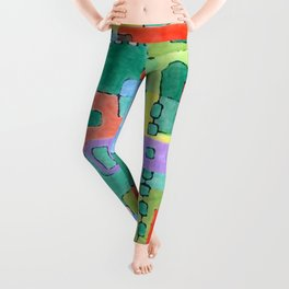 Cocktails in the City Leggings