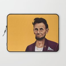 Hipstory -  Abraham Lincoln Laptop Sleeve