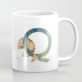 Q is for Quiche - Letter Q Coffee Mug