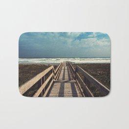 Beach Boardwalk Bath Mat