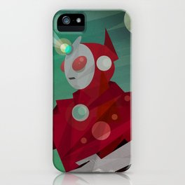 Superheroes SF iPhone Case