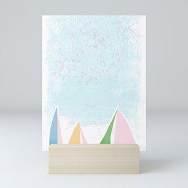 Sails for mee Mini Art Print