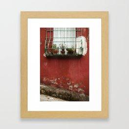 julyet doesn't live ghere anymore Framed Art Print