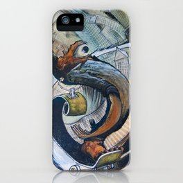 Long Boarding. Throwback Style iPhone Case