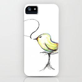 pajarito iPhone Case