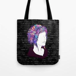 Introversion Dye Tote Bag