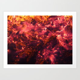 fire with fire Art Print