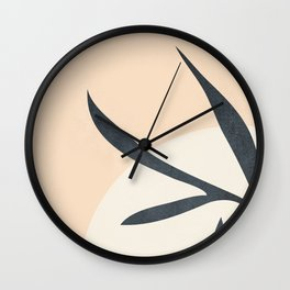 Modern Abstract Shapes 35 Wall Clock