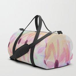 pink flower pattern Duffle Bag