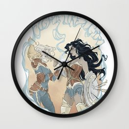Super Powered: Fight Like a Girl Wall Clock