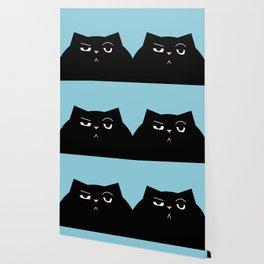 The Boss - Black Cat Illustration Wallpaper