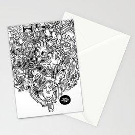 Oven Mitt Machine Stationery Cards