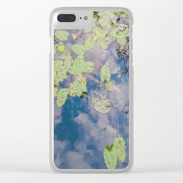 Looking Down or Looking Up Clear iPhone Case