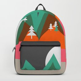 Bears walking home Backpack