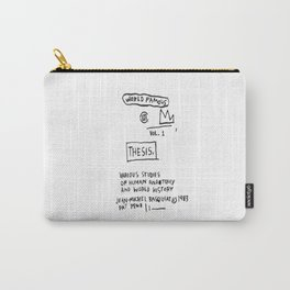 Basquiat World Famous Carry-All Pouch