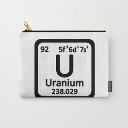 uranium_element Carry-All Pouch