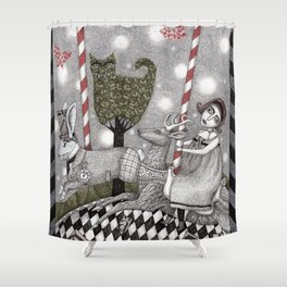 A is for Alice Shower Curtain