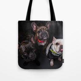 The French Bulldogs Tote Bag