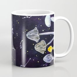 Mushrooms and Stars Coffee Mug