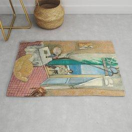Interior at Nice by Henri Matisse Rug
