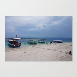 Gili T Beach #4 Canvas Print
