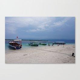 Gili T Beach #4 Canvas Print