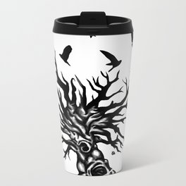 under dry roots. Metal Travel Mug