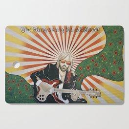 Wildflowers (Tom Petty Tribute Mural, Gainesville) Cutting Board