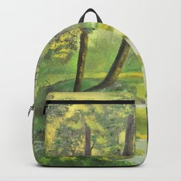 Happy sunny forest Backpack