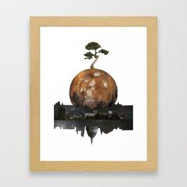 One Tree Left Framed Art Print